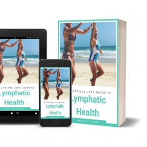 Chelsey Jean Guide to Lymphatic Health Mockup Cover